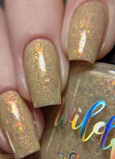 Wildflower Lacquer -  Candied Koi Collection - I Knew You Were Truffle When You Walked In