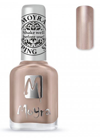 Moyra stamping polish 34 Rose Gold