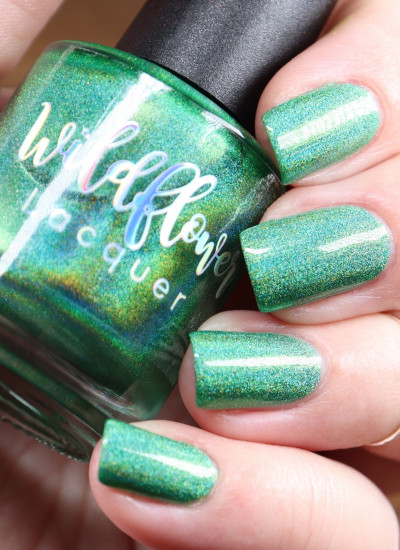Wildflower Lacquer -  Harley's Newest Holo - The Grass is Greener Under My Wiener
