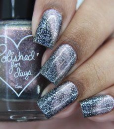 Polished For Days - Sweater Weather Collection - Sky Full of Stars Thermal Nailpolish