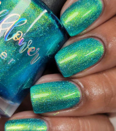 Wildflower Lacquer - For The Birds - All Spangled Up