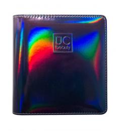 Uberchic Nailart - Dark Holographic Nail Stamp Storage Binder