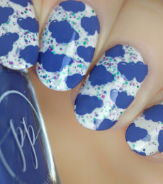 Painted Polish - Match Made in Denim Collection - Stamped in Denim