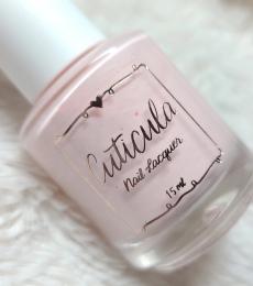 Cuticula Nail Polish - Peel Off Base Coat (Pink Sugar)
