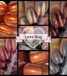 """Polished For Days - Autumn Collection Set with Gift """" Love Bug """""""