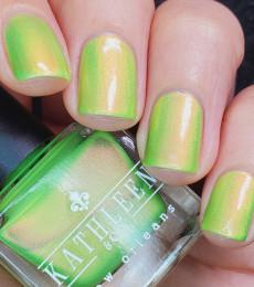 Kathleen& Co Polish - 2021 Summer Shimmers - Sour Apple
