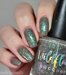 Wildflower Lacquer - Up a Creek Vol. 4&5 Collections- Isn't This a Glittering Sea of Hopeful Faces