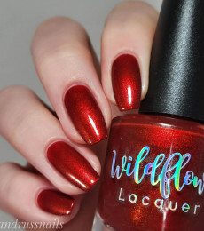 Wildflower Lacquer - Up a Creek Vol. 4&5 Collections- Gossip is the Devil's Telephone, Best to Just Hang Up