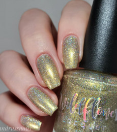 Wildflower Lacquer - Up a Creek Vol. 4&5 Collections- Are These 24 Karat?