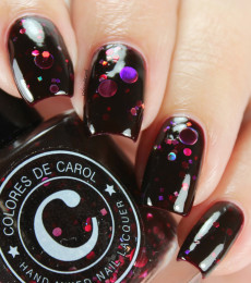 Colores de Carol Nailpolish Blackberry Sangria 2.0