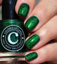 Colores de Carol Nailpolish Esmeralda