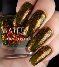 Kathleen& Co Polish - Creatures Of The Night  & Fall  Collection - Absolutely Gourd