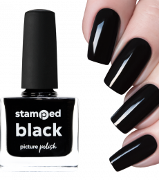 Picture Polish Stamping Polish - Black
