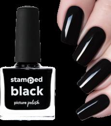 Picture Polish Stamping Polish - Black