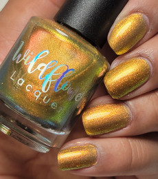 Wildflower Lacquer - The Raw Crystal Collection - Citrine
