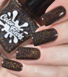 Color Flecks Nailpolish - Dark Chocolate