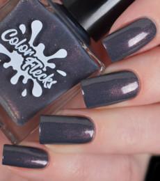 Color Flecks Nailpolish - Dark Fog