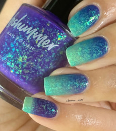 KBShimmer - Enchanted Forest Collection- Branching Out Tri-Thermal Nail Polish