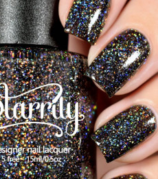 Starrily Nailpolish E=mc^2