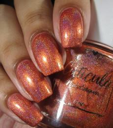 Cuticula Naillacquer - Fall Skies & Pumpkin Pies