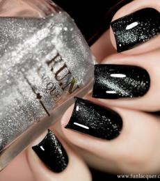 F.U.N Lacquer - 2021 Valentines Collection - The Platinum Diamond Magnetic Nailpolish