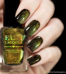 F.U.N Lacquer - 2021 Spring/Summer Collection - Gold Platinum Diamond Magnetic Nailpolish