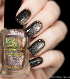 F.U.N Lacquer - 2021 Spring/Summer Collection - Purple Rose Platinum Diamond Magnetic Nailpolish
