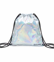 KBShimmer - KBShimmer Silver Holographic Drawstring Backpack