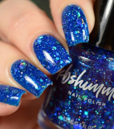 I Got A Crush On Blue Nail Polish