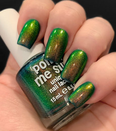 Polish Me Silly - Glow Pop Shimmer Collection - Emerald City Glow