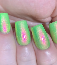 Polish Me Silly - Glow Pop Shimmer Collection - Glow Worm