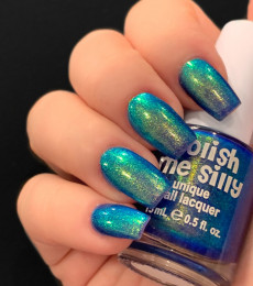 Polish Me Silly - Glow Pop Shimmer Collection - Peacock Glow