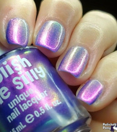 Polish Me Silly - Glow Pop Shimmer Collection - Cotton Candy Glow