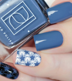 Painted Polish - Out of this World Collection - Stamped in Space