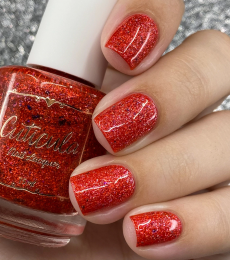 Cuticula Nail Polish - Kingdom of Legend Collection - Blood Moon