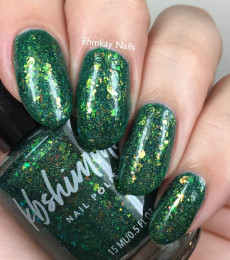 KBShimmer- The Love At Frost Sight Collection- How's It Growing Flakie Nail Polish