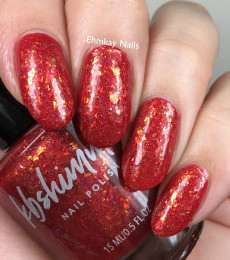 KBShimmer- The Love At Frost Sight Collection- Knit Happens Flakie Nail Polish