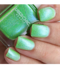 Uberchic Beauty -Put The Lime In The Coconut Holographic Polish