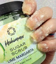 KBShimmer Lime Margarita Sugar Scrub (LE)