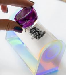 Uberchic Nailart - Sticky Roller Iridescent Acrylic Holder