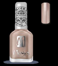 Moyra stamping polish 34 Rose Gold