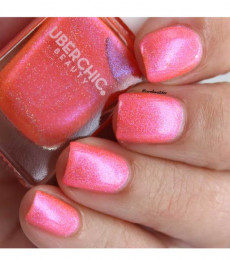 Uberchic Beauty - One In A Melon Holographic Polish