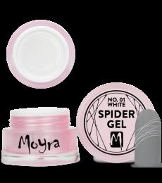 Moyra Spider gel 01 White
