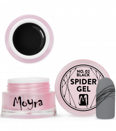 Moyra Spider Gel 02 Black