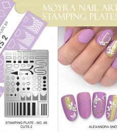 Moyra Big Stamping Plate 89 Cuts 2