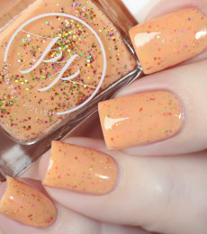 Painted Polish Creamsicle Comet