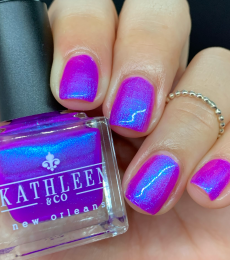 Kathleen& Co Polish - 2021 Summer Shimmers - Blue Purpalicious