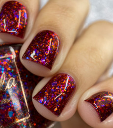 Cuticula Naillacquer - Shattered Fantasy Collection - Flames of a Phoenix