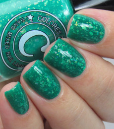 Colores de Carol Nailpolish Verde Verde