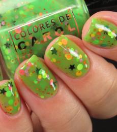 Colores de Carol Nailpolish -  Be Afraid...Be Very Afraid Collection - Alien